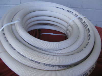 ASBESTOS COVERED CARBON FREE HOSES