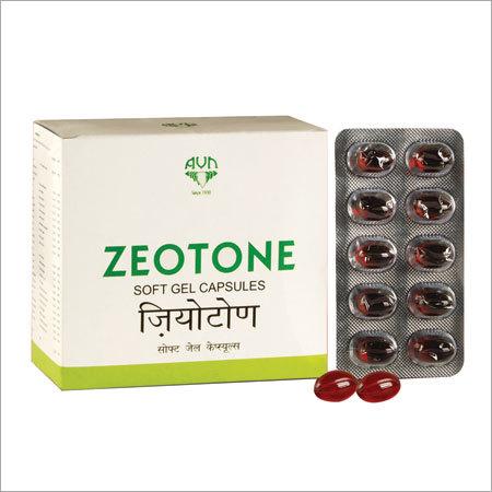 Zeotone Softgel Capsules