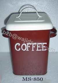 COFFEE CANISTER WITH LID