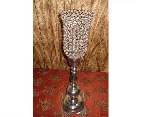Decorative Crystal Ball Candelabras