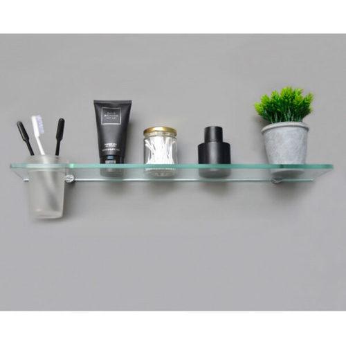 Glass Shelf With Tumbler-h2o