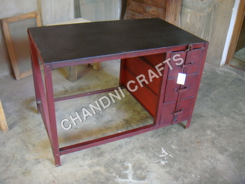 Iron Industrial Table