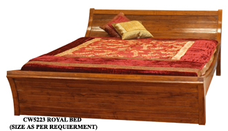 Indian Wood Double Bed