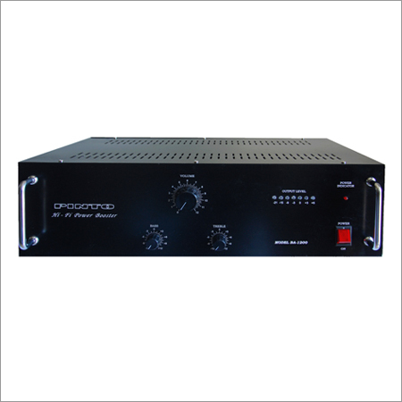 PA-1200 Mono Dj Amplifiers