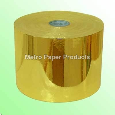 Golden Laminated Paper