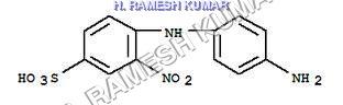 2-Nitro-4-Amino Diphenylamine-2 Sulfonic Acid (2 NADAPSA)