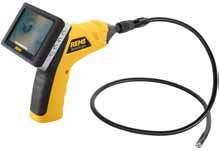 Endoscope camera with radio signal transmission