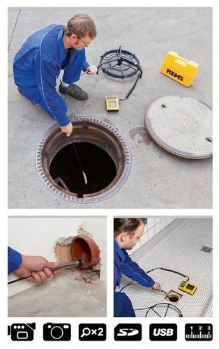 Electronic camera inspection system