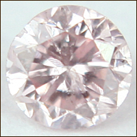 0.06 CT FANCY PINK I1 ROUND LOOSE DIAMOND
