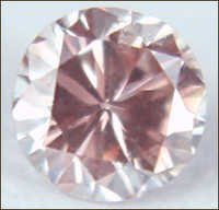 0.08 CT MEDIUM PINK SI2 ROUND LOOSE DIAMOND