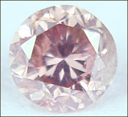0.11 CT LIGHT PINK VS ROUND LOOSE DIAMOND