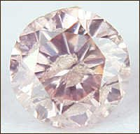 0.12 CT FANCY PINK I2 ROUND LOOSE DIAMOND