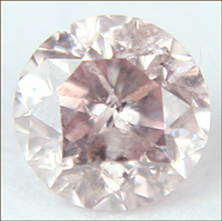 0.12 CT LIGHT PINK I1 ROUND LOOSE DIAMOND