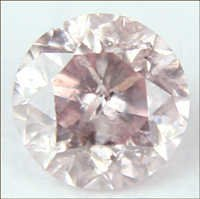 0.12 CT LIGHT PINK I1 ROUND LOOSE DIAMOND