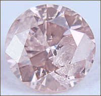 0.16 CT FANCY PINK I2 ROUND LOOSE DIAMOND