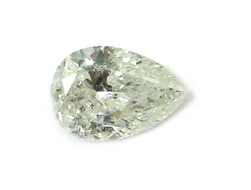 0.52 CT E-F SI PEAR LOOSE DIAMOND