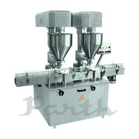 Double Head Auger Filling Machine