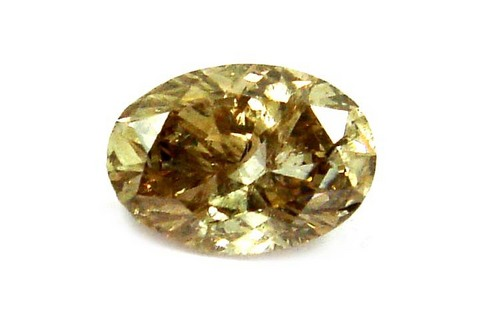 1.06 CT BROWN I2 OVAL LOOSE DIAMOND