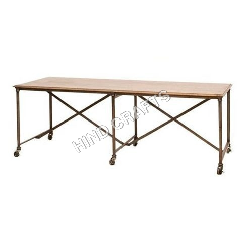 Industrial Iron Tables