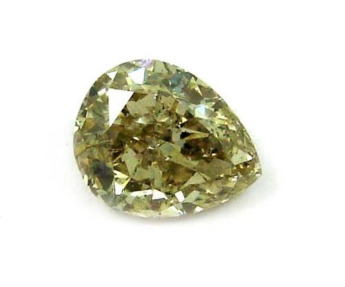 1.17 CT FANCY BROWN PEAR SHAPE LOOSE DIAMOND