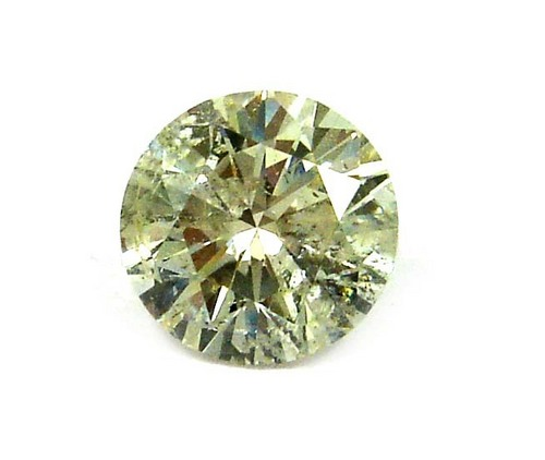1.27 CT K SI3 I1 ROUND LOOSE DIAMOND