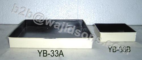 Sqr Tray Multipurpose Ivory Black