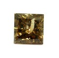 2.05 CT COGNAC BROWN I1-I2 PRINCESS LOOSE DIAMOND