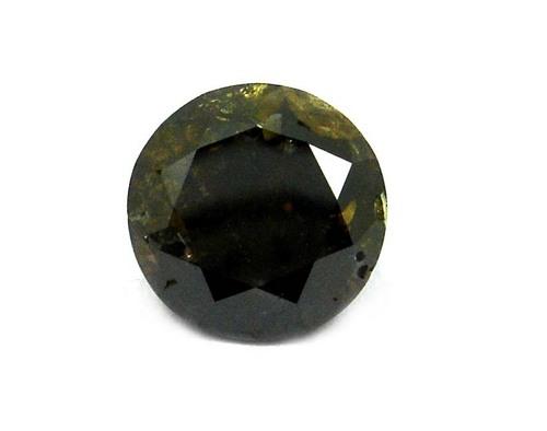 3.15 CT BROWN - I3-PK ROUND LOOSE DIAMOND
