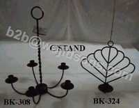 Roof Mount Candlebra Black