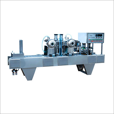 Automatic Cup Fill Seal Machine