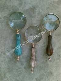 VINTAGE SET OF MAGNIFYING GLASS