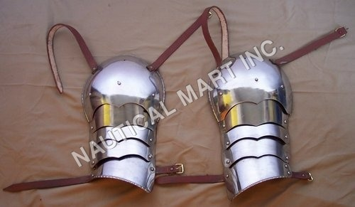 Medieval Shoulder Half Arms set