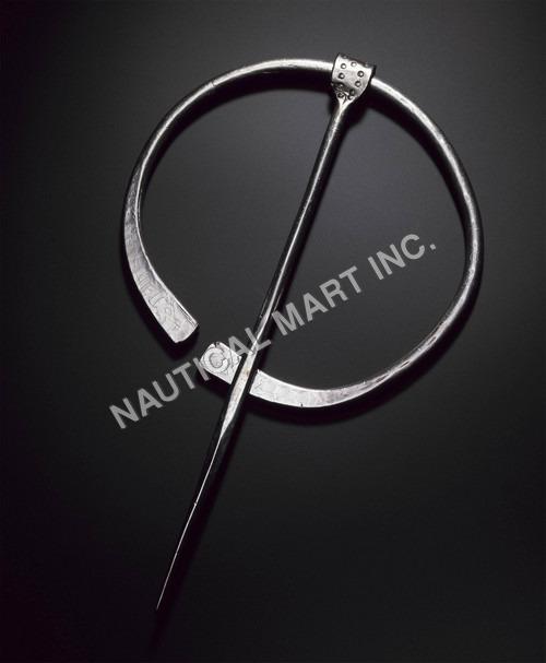 Iron Clock Pin