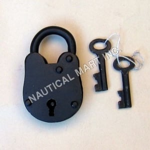Iron Antique Lock With Keys
