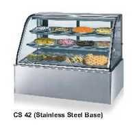 Bend Glass Display Showcase - Cold - Celfrost - CS-43 - SS BASE
