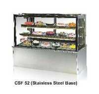 Display Showcse - Flat Glass Cold - Celfrost - CSF-52 - SS Base