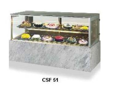 Display Showcase - Flat Glass - Cold - Celfrost - CSF-51