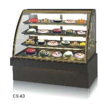 Bend Glass Display Showcase - Cold - Celfrost - CS-43