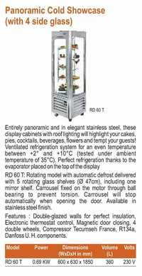 Panoramic Display Showcase - Roller Grill - RD-60 T