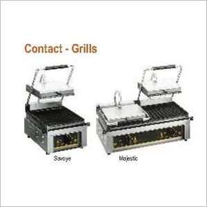 Contact Griller - Roller Grill - Savoye & Majestic