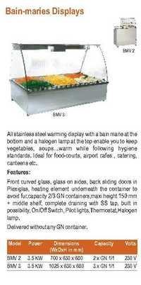 Bain Marie Counter Top - Roller Grill - BMV 2