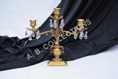 Acrylic Beads Candle Holder