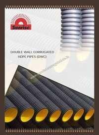 Black HDPE Corrugated Pipe