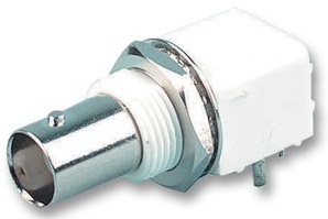 BNC  Female right angle PCB mount connector