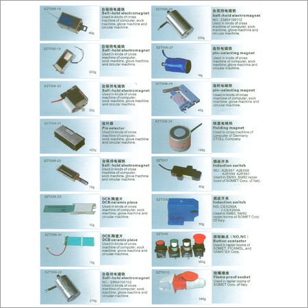 Electronic Spare Parts For Weaving Looms