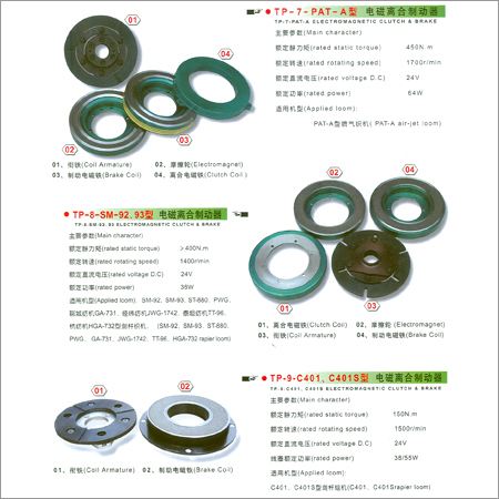 Textile Machinery Clutch