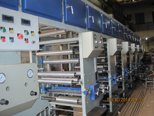 Flexible Rotogravure Printing Machinery
