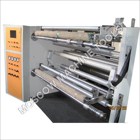 Duplex Slitter Cum Rewinder Machine