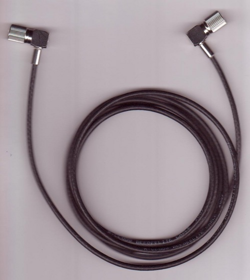 L9 male Right angle to L9 male right angle with BT 3002 cable