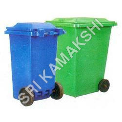 PVC Waste Bins With Wheels